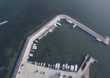 Construction of the yacht-marina has been completed.
