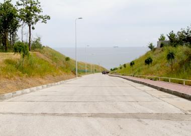 Current repair of roads 2013