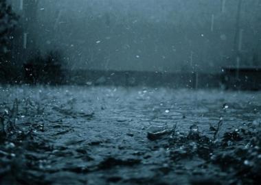 Heavy rain in Odessa