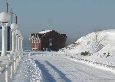 Сильнейший снегопад
