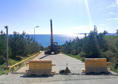 Проведен ремонт Центрального спуска