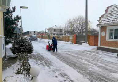 Расчистка дорог от снега