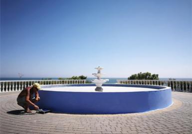 Косметический ремонт фонтана