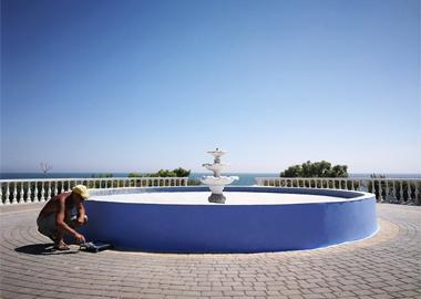 Косметичний ремонт фонтану