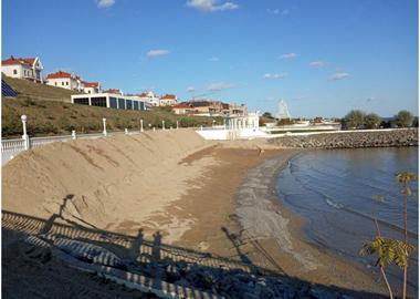 Защита песчаного слоя
